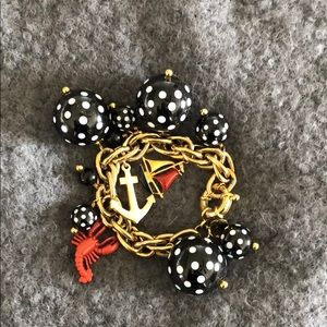J. Crew nautical chunky bracelet